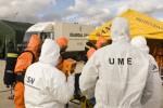 La UME y el Consejo de Seguridad Nuclear organizan un ejercicio de campo de emergencia nuclear
