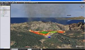 Investigadores canarios crean una aplicación para predecir y gestionar los incendios forestales