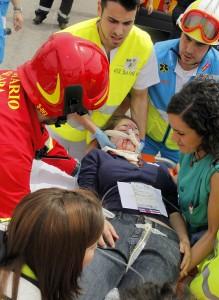 Más de 500 enfermeros se ponen a prueba en un gran simulacro con 240 heridos