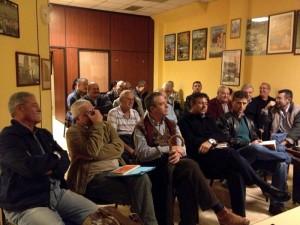 El Concejal de Seguridad expuso sus proyectos a las asociaciones de vecinos laguneras