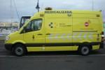 Ambulancia de soporte vital avanzado con base en Lanzarote