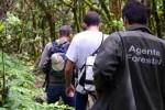 La Unidad de Montes de Santa Cruz colabora con la ULL para detectar zonas de desprendimientos en Anaga