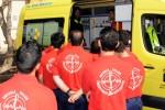 La Escuela Taller Emergencias de San Bartolomé realizarán practicas en ambulancias del SUC
