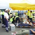 Un simulacro de accidente aéreo pone a prueba las emergencias de Canarias