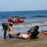 Un simulacro de accidente aéreo pone a prueba las emergencias de Canarias. Canasar 2012