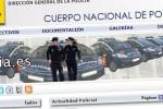 La Dirección General de la Policía activa el sistema de denuncias vía Internet