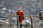 La UME ha intervenido ya en 26 incendios, 11 más que en todo el verano de 2011