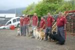El Ayuntamiento de Breña Baja organiza un curso canino para rescatar a personas en grandes superficies o estructuras colapsadas